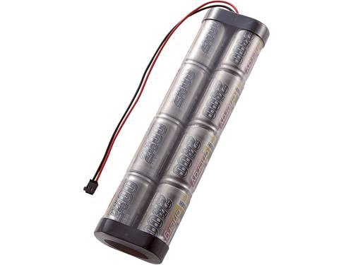 NiMH zenderaccu 9.6 V 2400 mAh Conrad energy Stick Graupner
