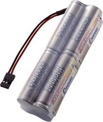 RC Sändarbatteri (NiMh) Conrad energy NiMH R6 (AA) Block 9.6 V 1800 mAh JR anslutning