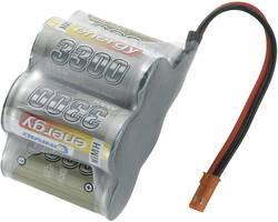 RC Mottagarbatteri (NiMh) Conrad energy NiMH Sub-C Hump 6 V 3300 mAh