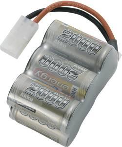 RC Batteripack (NiMh) 7.2 V 2000 mAh Antal celler: 6 Conrad energy Block Tamiya stickpropp