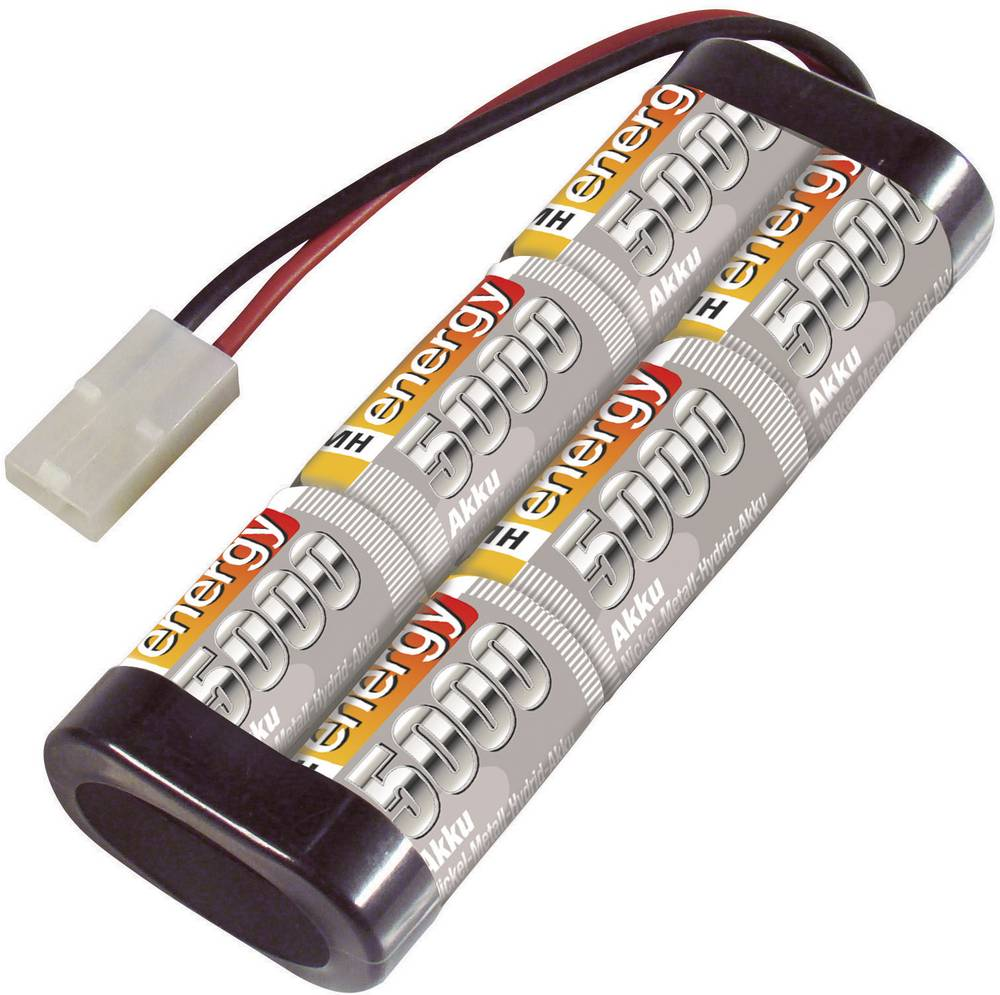 Baterijski paket za modele (NiMh) 7.2 V 5000 mAh broj ćelija: 6 Conrad energy štap Tamiya-utikač