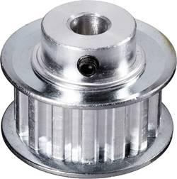 Aluminium Tandad remskiva Reely Borrdiameter: 8 mm Diameter: 65 mm Antal tänder: 40