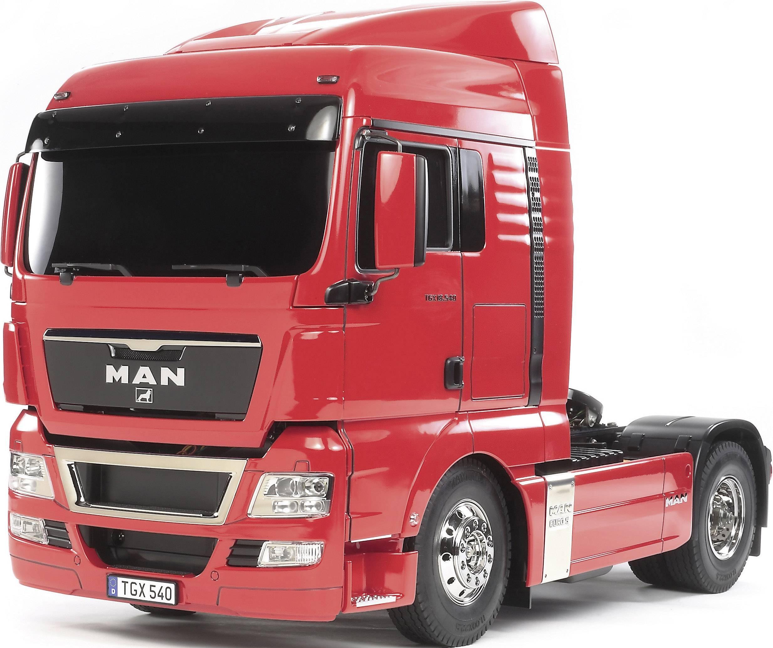 tamiya 56329 1 14 man tgx 18 540 xlx 4x2 rc model truck kit from rh conrad com man tga service manual download Man TGE