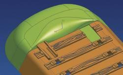 12x Roco 61180 entstücke for Geoline Track Embankment End Piece