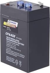 Blybatteri Conrad energy 250116 Bly AGM 6 V 4.5 Ah