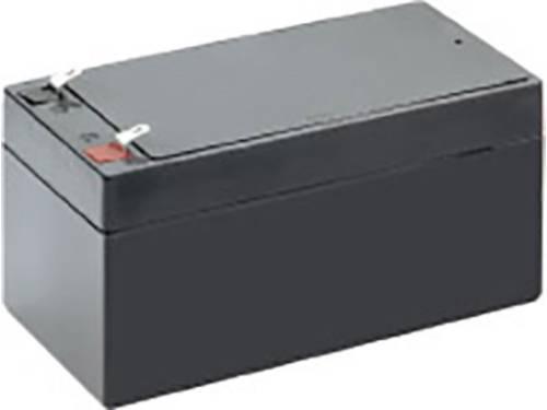 Loodaccu 12 V 3.2 Ah Conrad energy 250189 Loodvlies (AGM)