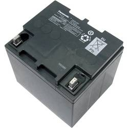 Blybatteri Panasonic LC-P1238APG 12 V 38 Ah Blyfleece