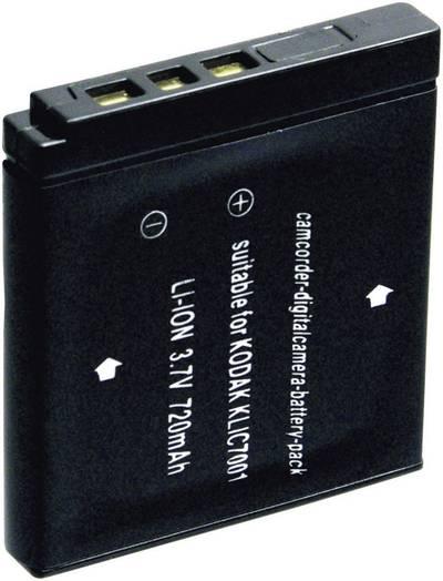 Image of Camera battery Conrad energy replaces original battery KLIC-7001 3.7 V