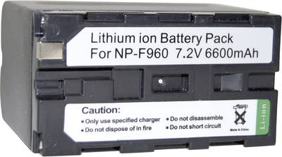Image of Camera battery Conrad energy replaces original battery NP-960, NP-970, NP-530, NP-730, N