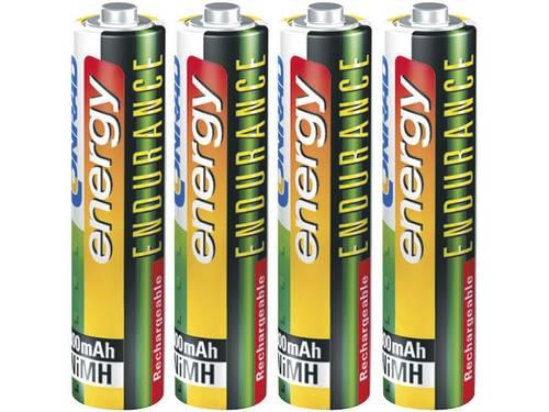Oplaadbare AAA batterij (potlood) Conrad energy Endurance HR03 NiMH 800 mAh 1.2 V 4 stuk(s)