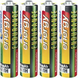 Laddbart batteri R03 (AAA) NiMH Conrad energy Endurance HR03 800 mAh 1.2 V 4 st