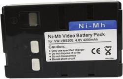 Image of Camera battery Conrad energy replaces original battery BN-V25U 6 V