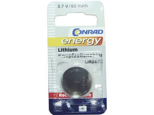 LIR2430 Oplaadbare knoopcel Lithium 3.6 V 80 mAh Conrad energy 1 stuks