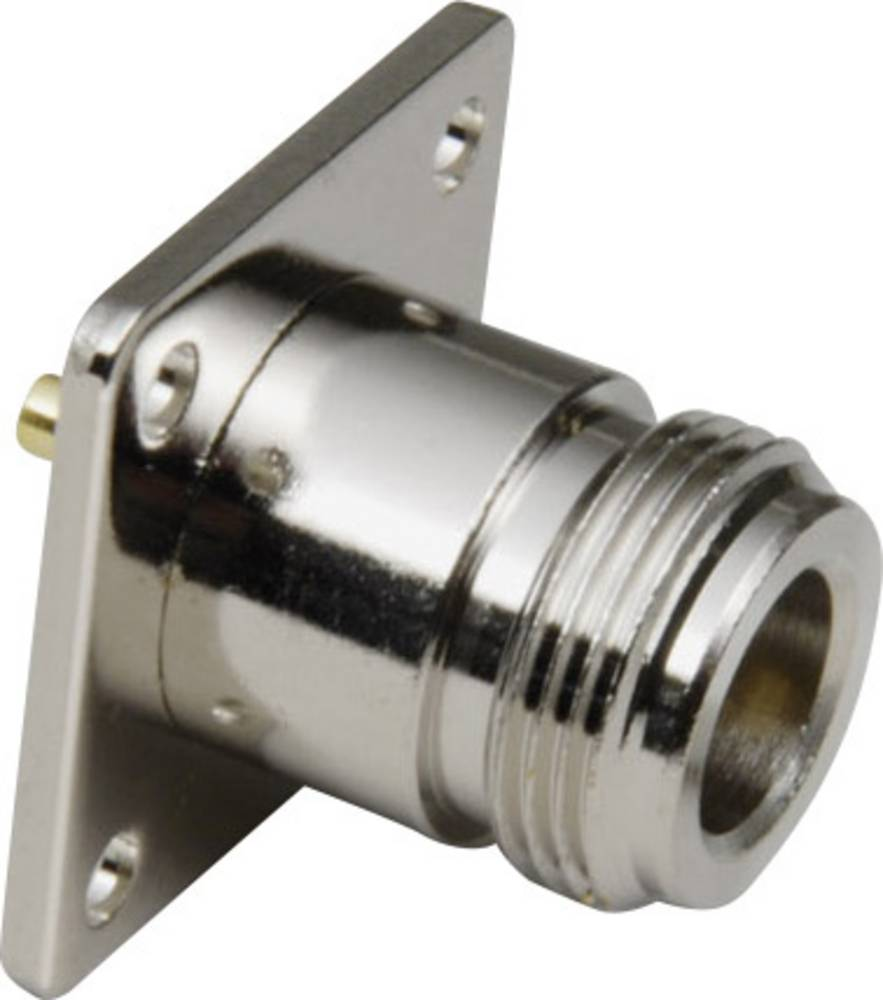N-stikforbindelse BKL Electronic 0404027 50 Ohm Tilslutning, indbygning lodret 1 stk