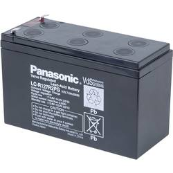 Blybatteri Panasonic LC-R127R2PG 12 V 7.2 Ah Blyfleece