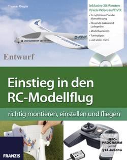 Knjiga ''Vstop v svet letenjaRC-modelov'' 65181 Franzis Verlag