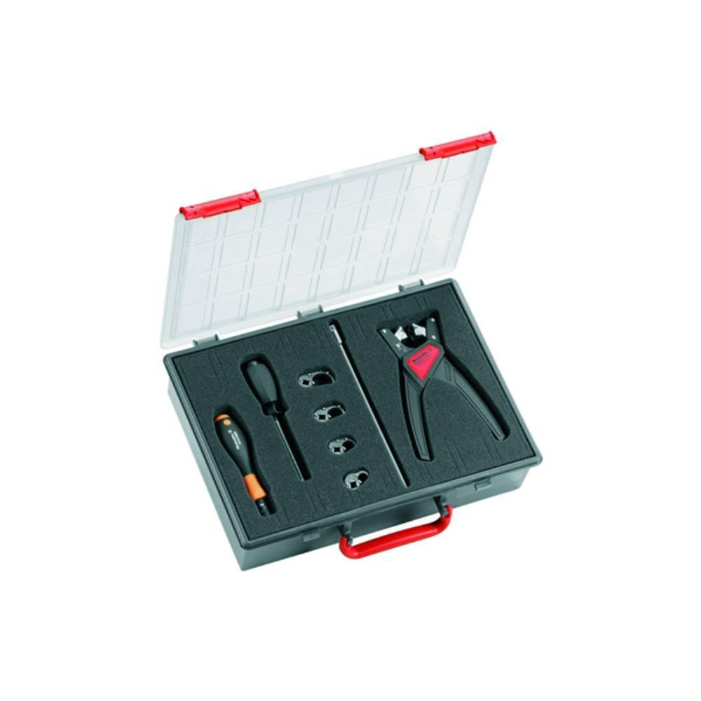 Gør-det-selv-folk Værktøjssæt I kuffert 8 dele Weidmüller SAI-SCREWTY BOX 1939180000