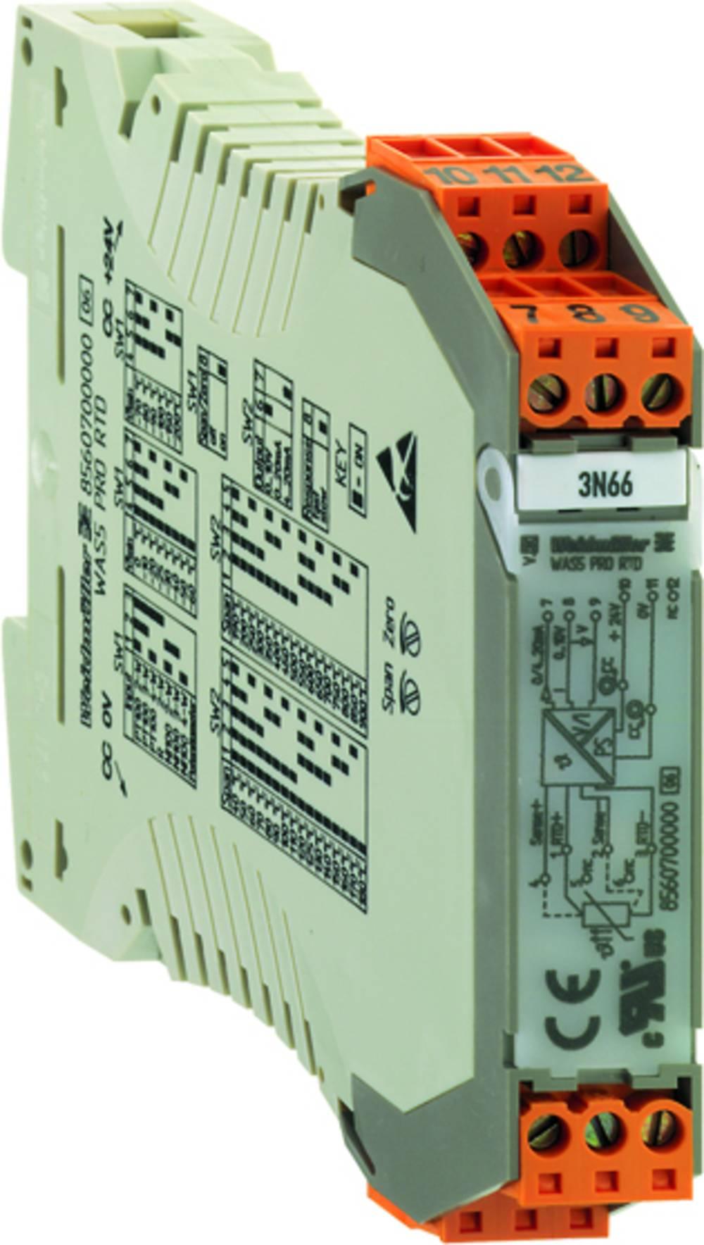 RTD-pretvornik WTZ4 PT100/3 V 0-10V kataloška številka 8432130000 Weidmüller vsebuje: 1 kos