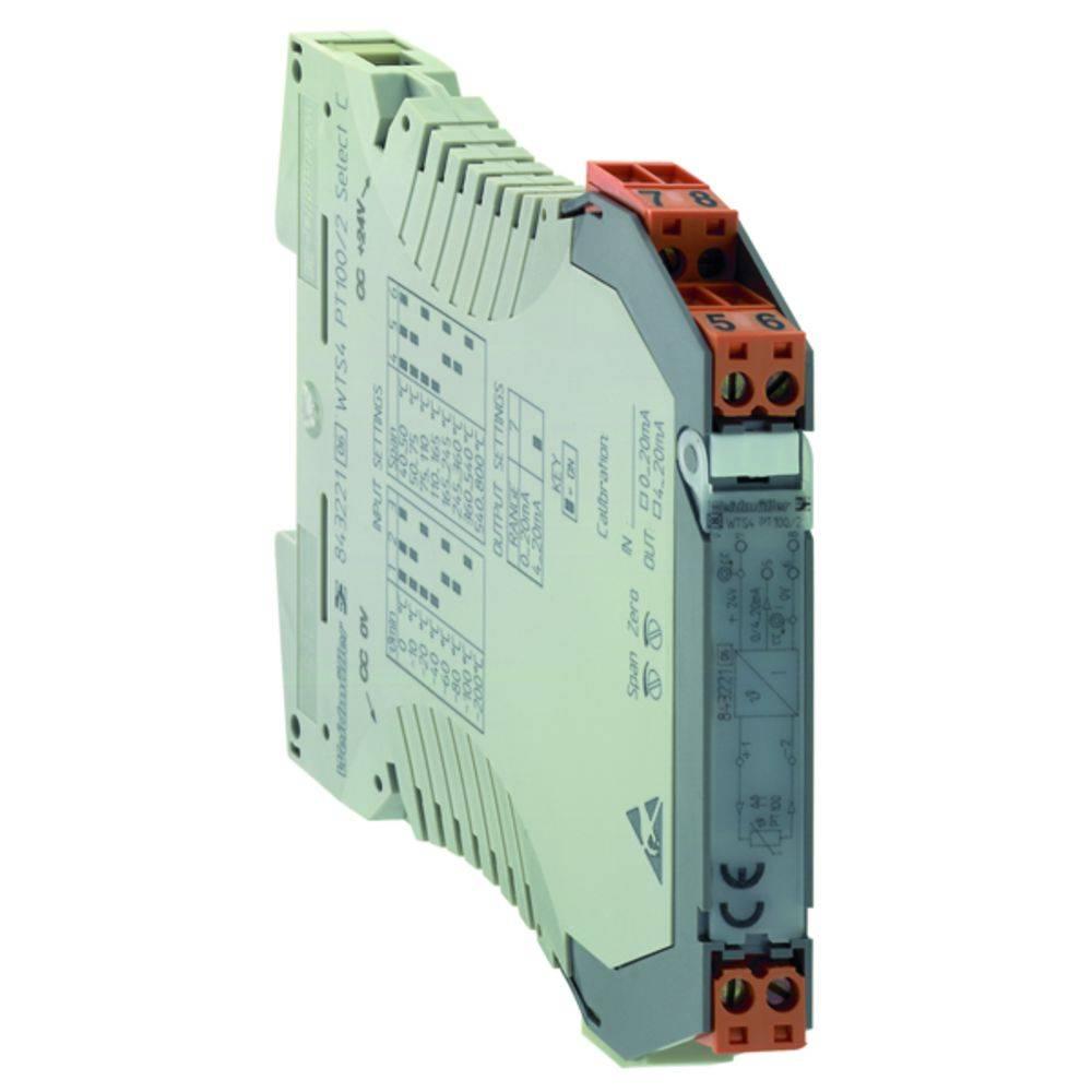 RTD-pretvornik WTZ4 PT100/2 C 0/4-20MA kataloška številka 8432220000 Weidmüller vsebuje: 1 kos