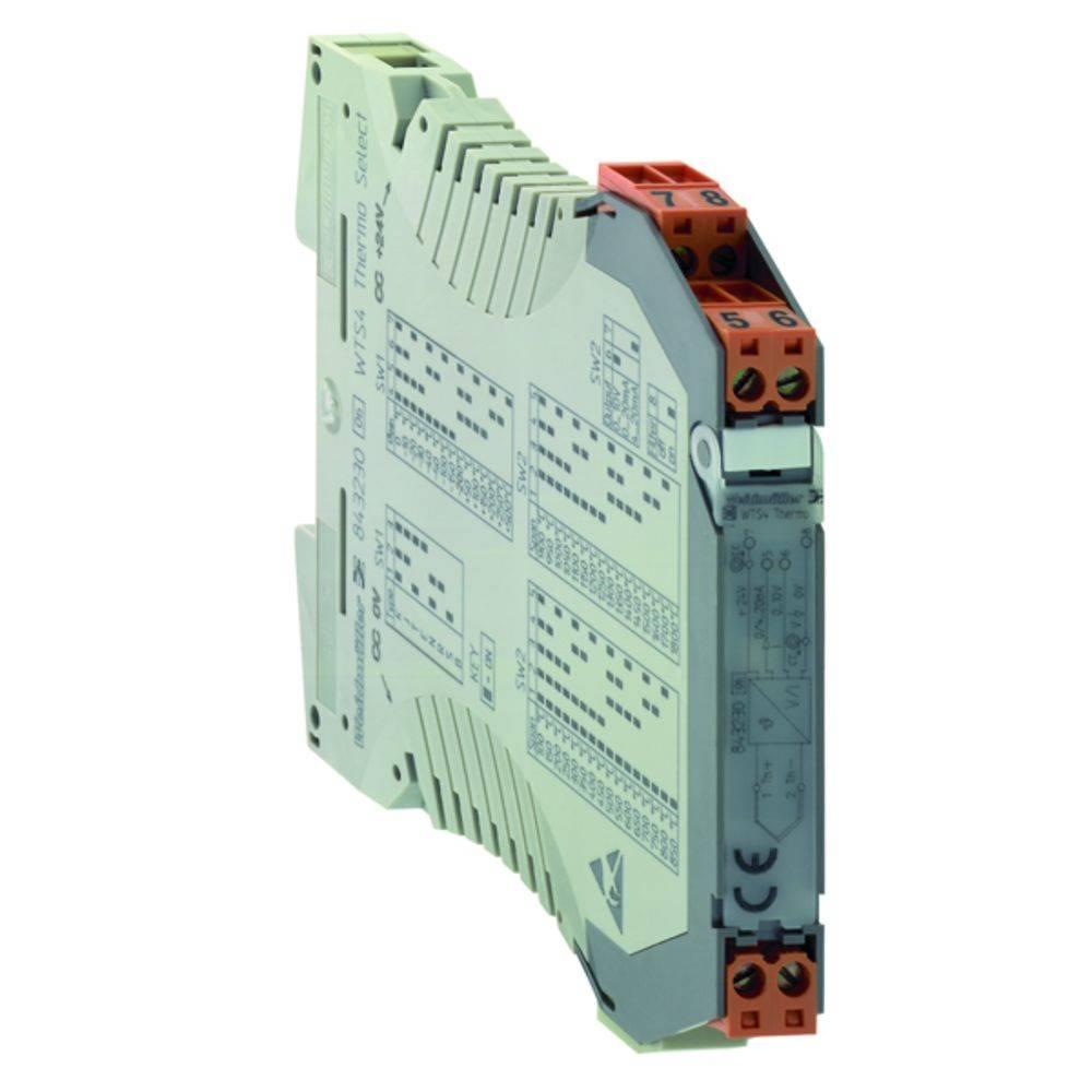 Signalni pretvornik/razdelilnik WTS4 THERMO kataloška številka 8432300000 Weidmüller vsebuje: 1 kos