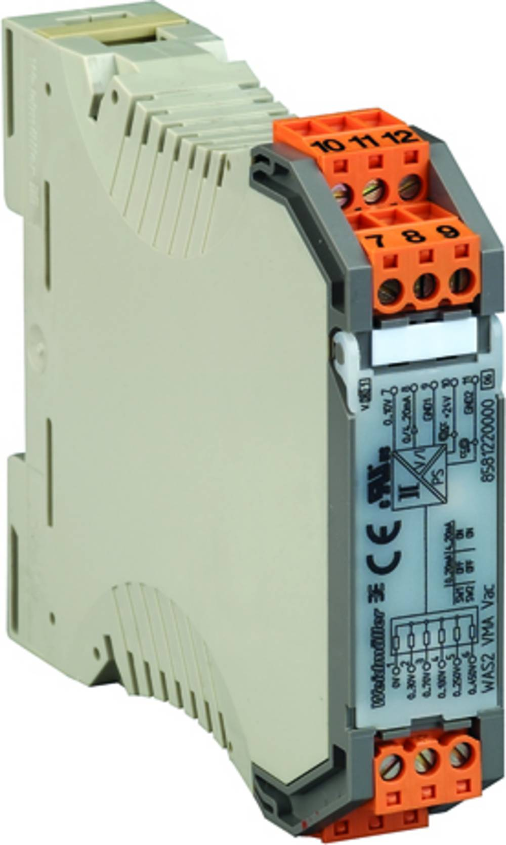 Spremljanje električne energije WAZ1 CMA 1/5/10A AC kataloška številka 8523410000 Weidmüller vsebuje: 1 kos