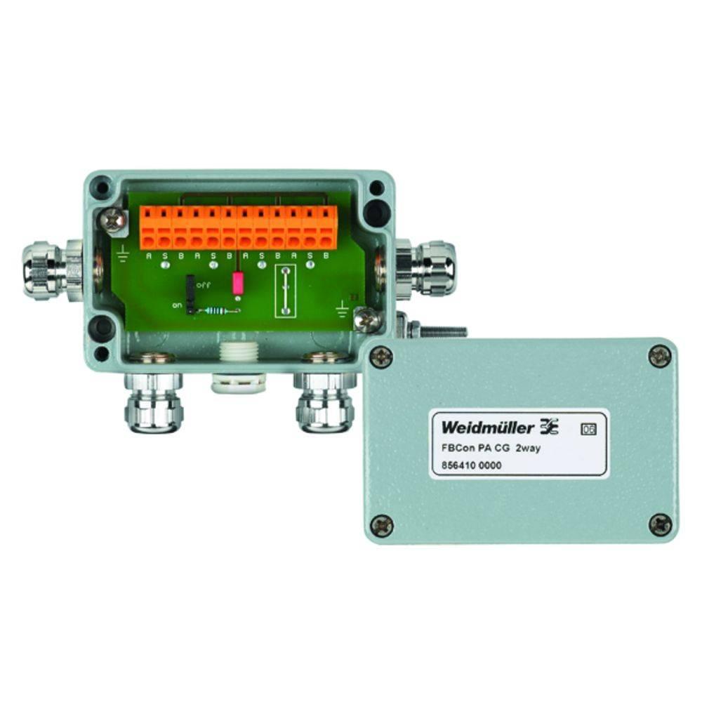 Sensor/aktorbox passiv PROFIBUS-PA standardfordeler FBCON PA CG 2WAY 8564100000 Weidmüller 1 stk