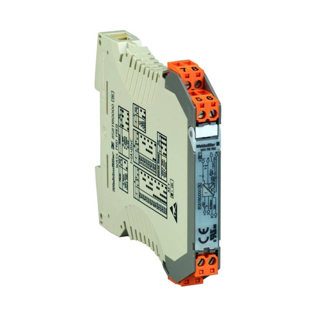 Signalni pretvornik/razdelilnik WAZ4 PRO FREQ kataloška številka 8581190000 Weidmüller vsebuje: 1 kos