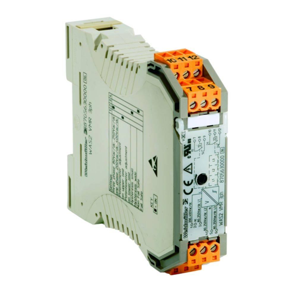 Nadzor napetosti WAS2 VMR 3PH kataloška številka 8705630000 Weidmüller vsebuje: 1 kos