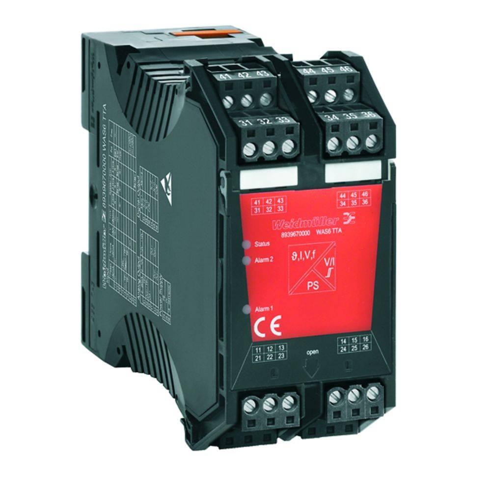 Signalni pretvornik/razdelilnik, nadzor mejne vrednosti WAS6 TTA EX kataloška številka 8964310000 Weidmüller vsebuje: 1 kos
