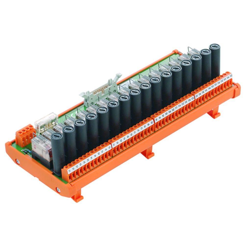 Tiskano vezje za rele, opremljeno 1 kos Weidmüller RSM-16 FUS 1CO S 250 V/AC