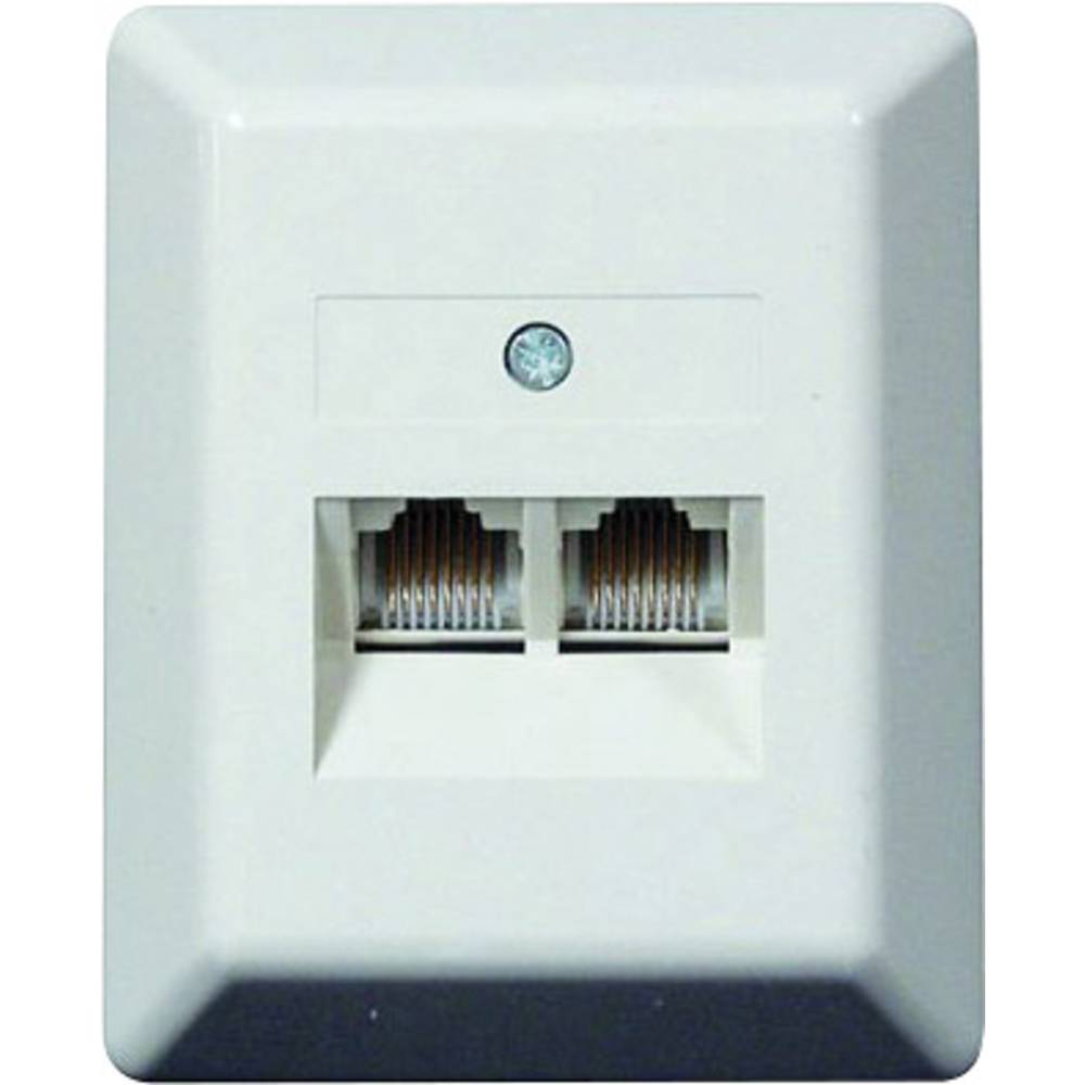 ISDN RJ45 socket outlet RJ45 8/4 Wall-mount from Conrad.com