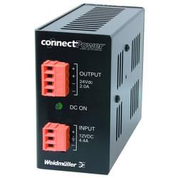 Strømforsyning til DIN-skinne (DIN-rail) Weidmüller CP DCDC 50W 15V 3A 15 V/DC 3 A 50 W 2 x