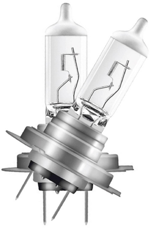 halogen lyskilde OSRAM Silverstar 2.0 H7 55 W