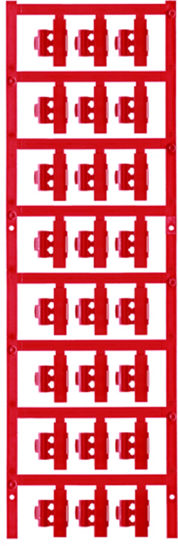 Markeringsophæng Weidmüller SFC 2/21 NEUTRAL RT 1805790000 120 stk Antal markører 120 Rød