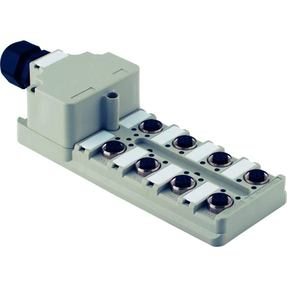 Razdelilnik za pasivne senzorje in aktuatorje SAI-4-M 5P M12 M1:1 UT Weidmüller vsebuje: 2 kosa