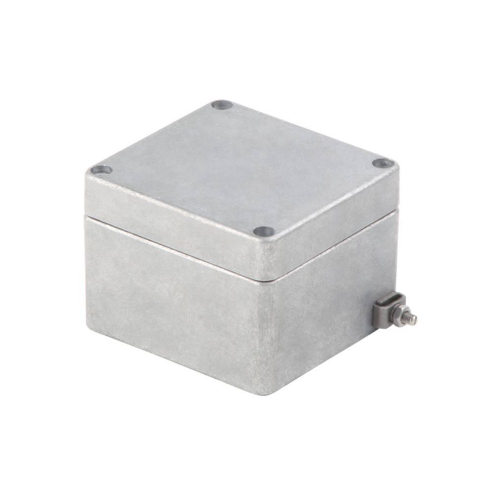 Universalkabinet Aluminium Weidmüller KLIPPON K01 VMQ RAL7001 10 stk
