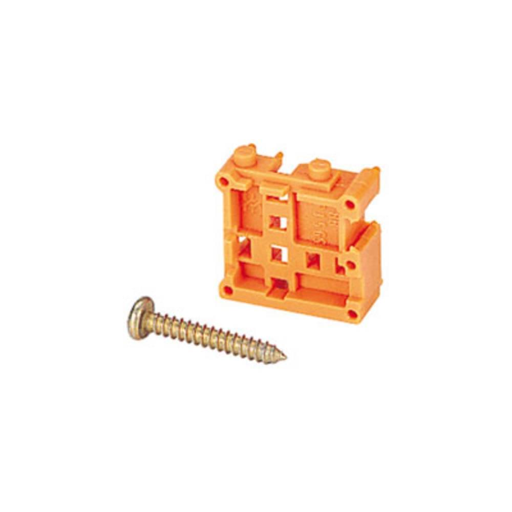 Fastgørelseselement Weidmüller TOP1.5GS90ES 5 2STI OR Orange 235 stk