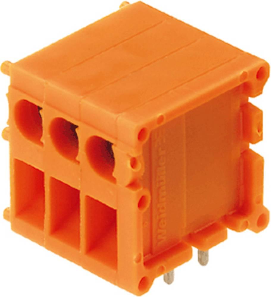 Skrueklemmeblok Weidmüller TOP1.5GS22/90 5 2STI OR 2.50 mm² Poltal 22 Orange 10 stk