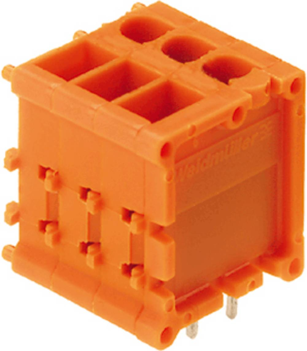 Skrueklemmeblok Weidmüller TOP1.5GS20/180 5 2ST OR 2.50 mm² Poltal 20 Orange 20 stk