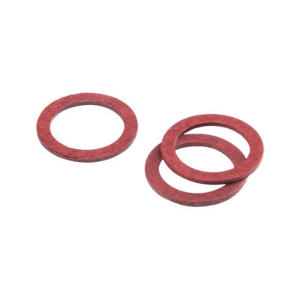 Tætningsring Weidmüller 1076730000 Polyamid M63 Rød 25 stk