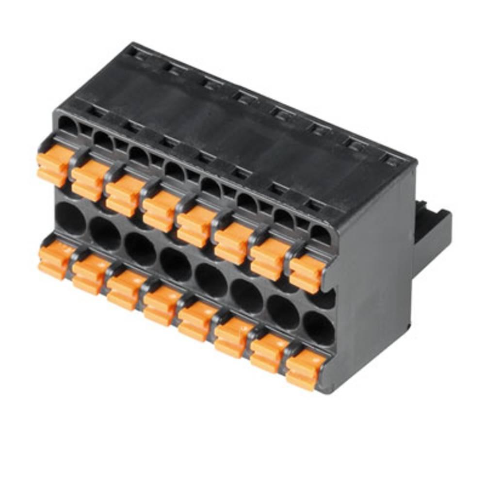 Vtični konektor za tiskana vezja Weidmüller 1001200000 vsebuje: 32 kosov