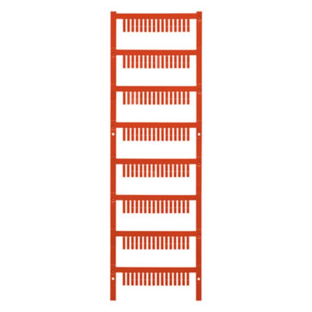 Makering af apparater Weidmüller ESG B&R X20 MC NE RT 1001170001 1120 stk Antal markører 1120 Rød