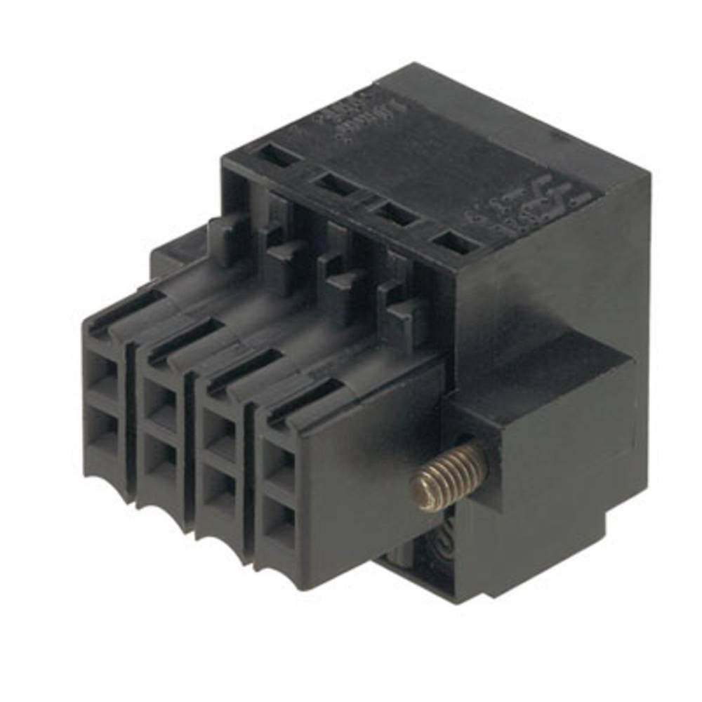 Tilslutningskabinet-kabel B2L/S2L 3.50 Samlet antal poler 32 Weidmüller 1748140000 Rastermål: 3.50 mm 24 stk