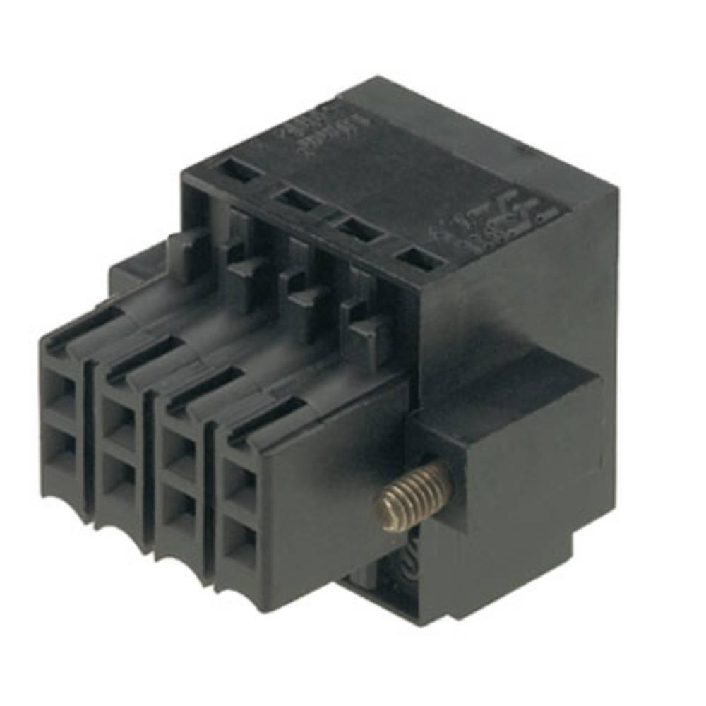 Tilslutningskabinet-kabel B2L/S2L 3.50 Samlet antal poler 36 Weidmüller 1748320000 Rastermål: 3.50 mm 24 stk