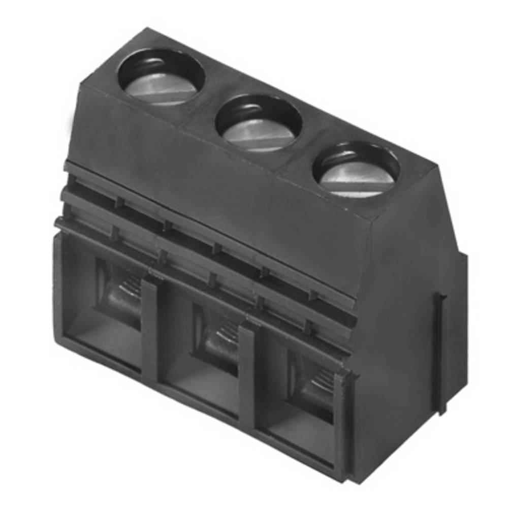 Skrueklemmeblok Weidmüller LU 10.16/02/90 4.5SN GN BX 16.00 mm² Poltal 2 Grøn 20 stk