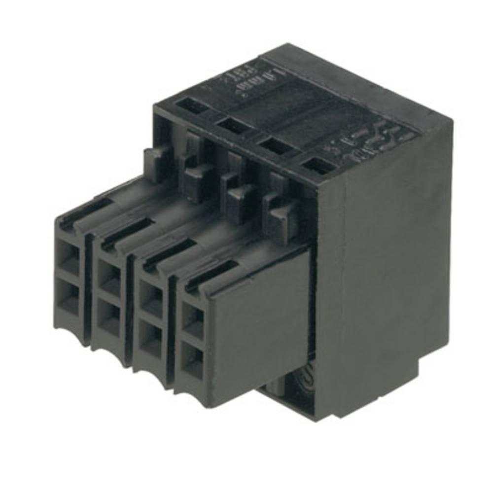 Tilslutningskabinet-kabel B2L/S2L 3.50 Samlet antal poler 14 Weidmüller 1727680000 Rastermål: 3.50 mm 72 stk