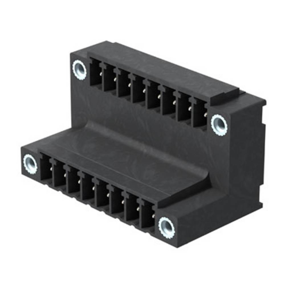 Vtični konektor za tiskana vezja črne barve Weidmüller 1034070000 vsebuje: 50 kosov
