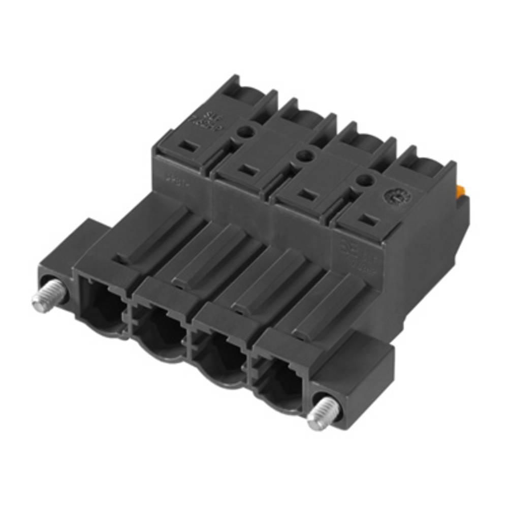 Stiftkabinet-kabel Samlet antal poler 4 Weidmüller 1043690000 Rastermål: 7.62 mm 42 stk
