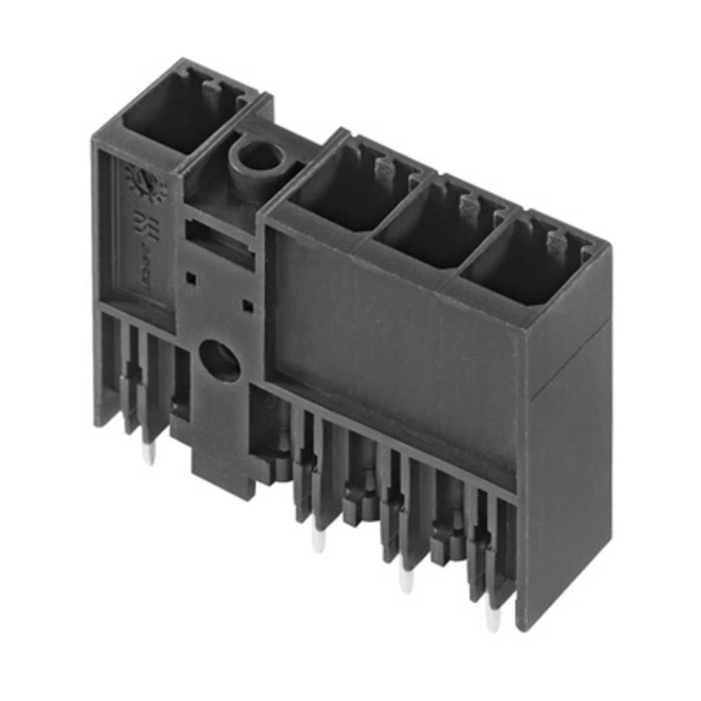 Vtični konektor za tiskana vezja črne barve Weidmüller 1048350000 vsebuje: 78 kosov