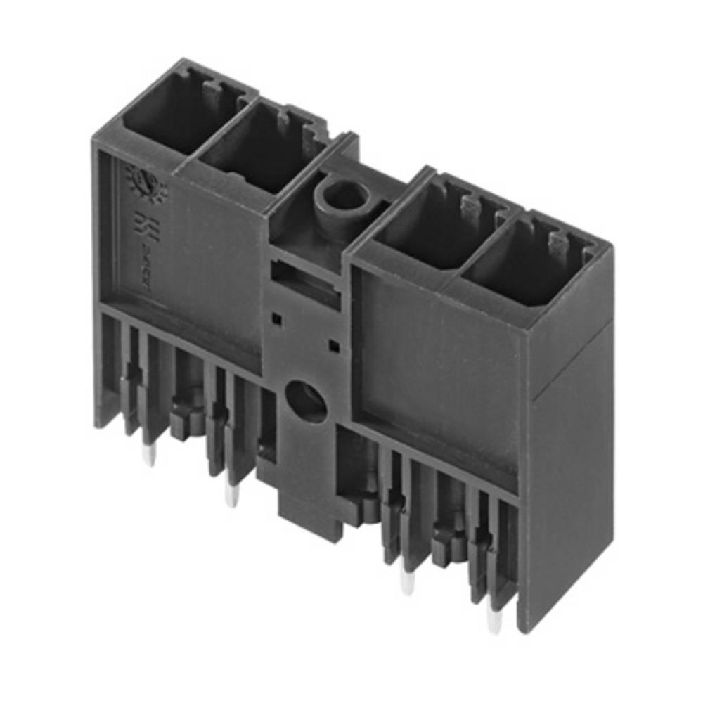 Vtični konektor za tiskana vezja črne barve Weidmüller 1048590000 vsebuje: 36 kosov